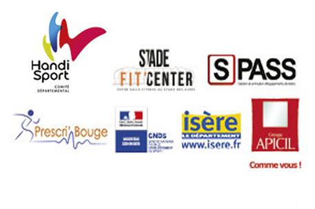Logo des différents partenaires du CDHI pour le cycle