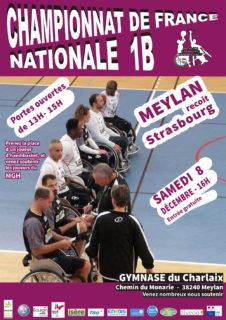 Affiche porte ouverte Meylan Grenoble Handibasket