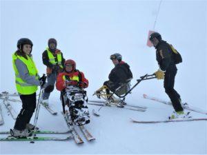 Groupe en Ski Alpin