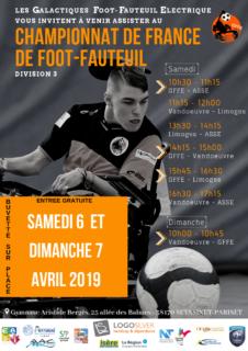 Affiche du Championnat