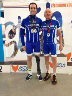 Cédric-et-Michel-Roubaix- AS HANDIVIENNE