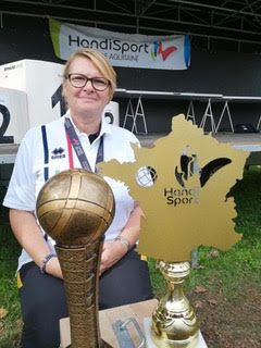 condreau v. CLPSE Villefontaine remporte la finale du Chamionnat de franc ed epétanque 2019 tête à tête féminin