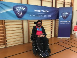 Remise Label club FFH au club Handi Touch'