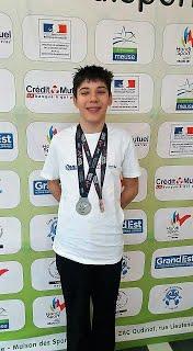 Un nageur pontois vice champion de France des moins de 20 ans