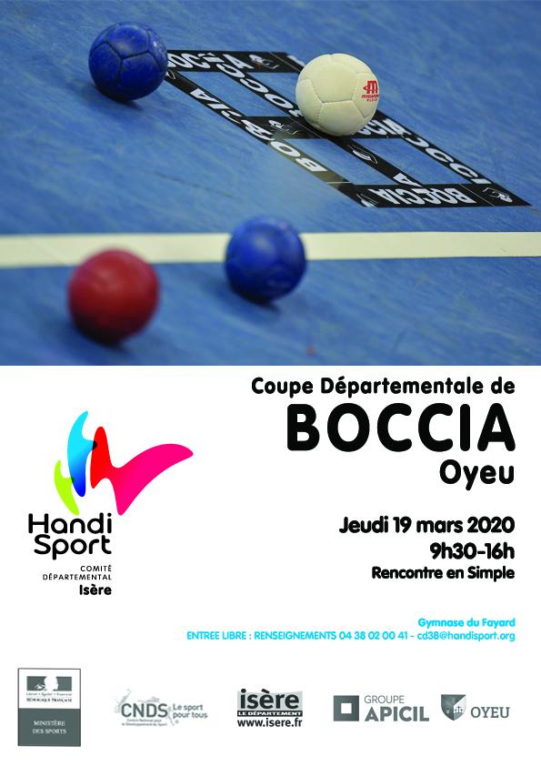 Reportée – Coupe Individuel – Boccia – OYEU – 2020
