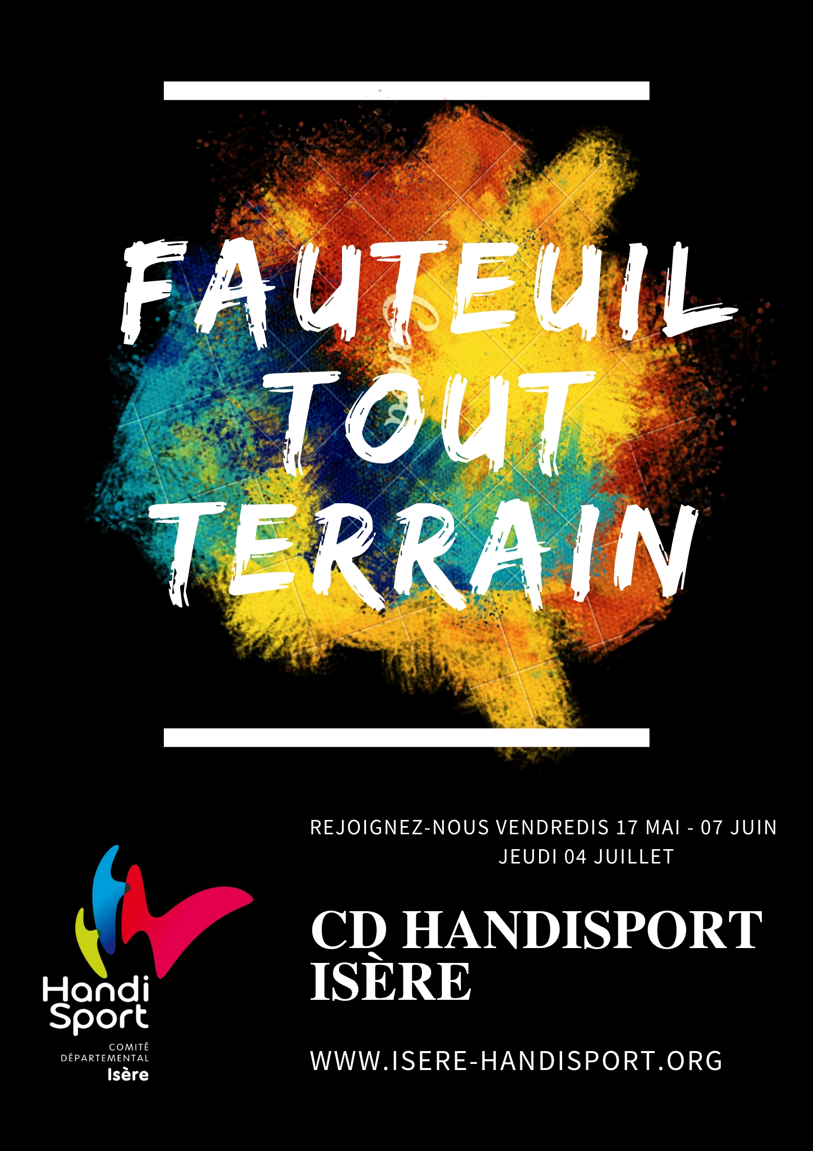 Découverte du Fauteuil Tout Terrain (FTT)