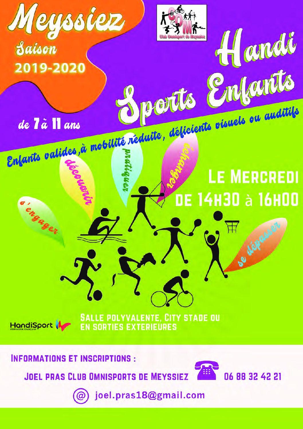 Handi Sports Enfants