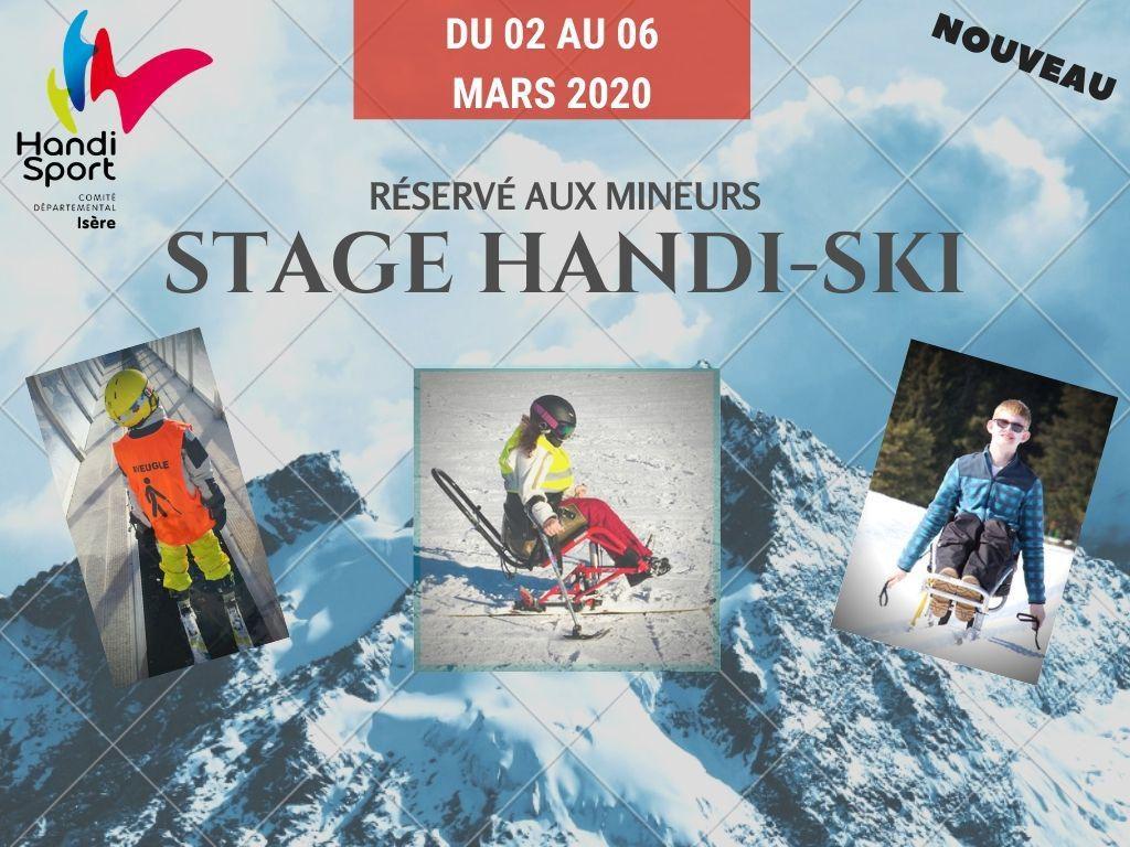Affiche Stage-Ski-Jeunes-2020