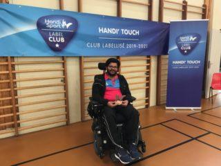 Remise Label club FFH au club Handi Touch'