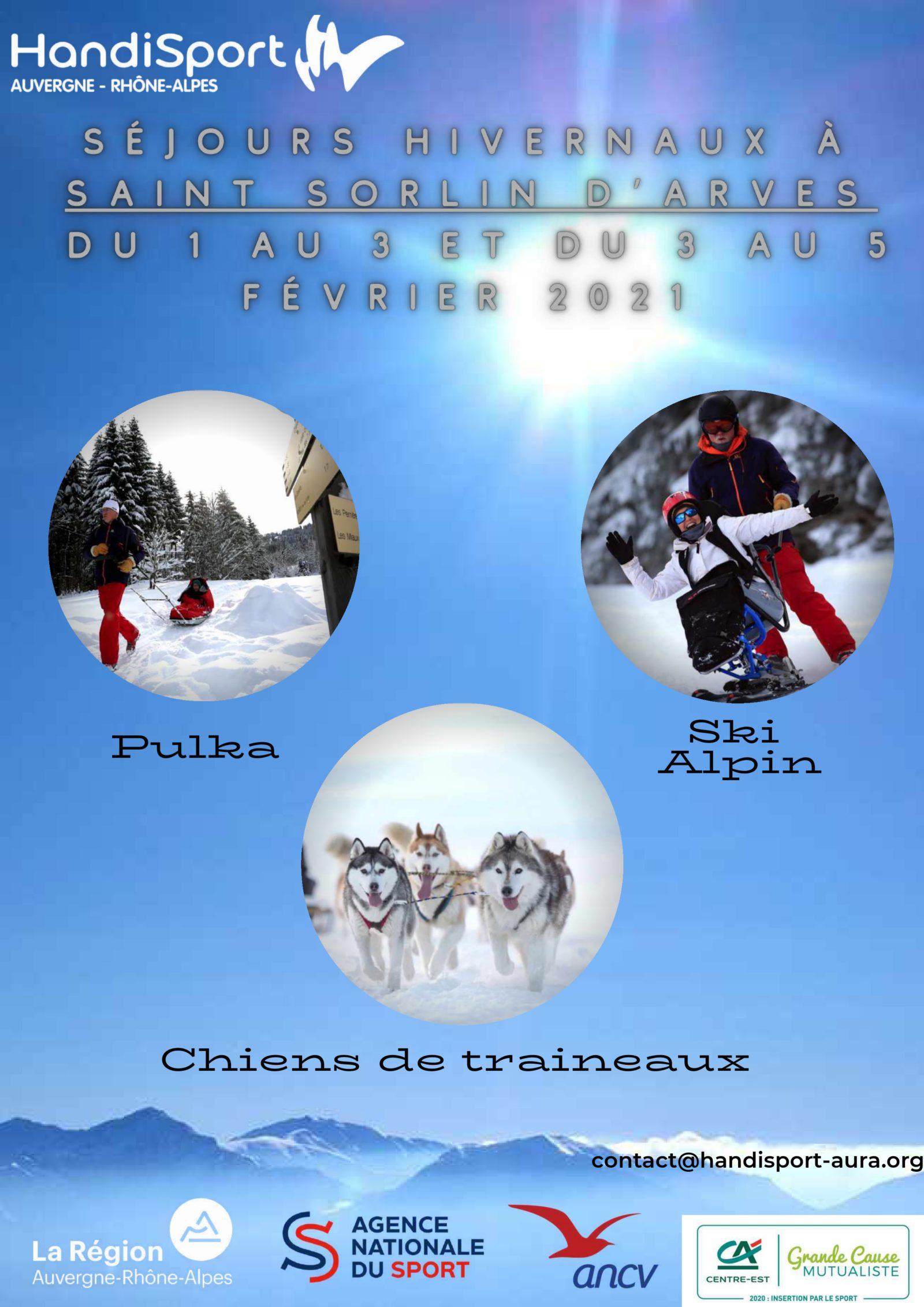 Séjour hivernal Auvergne-Rhône-Alpes  Saint Sorlin d'Arves