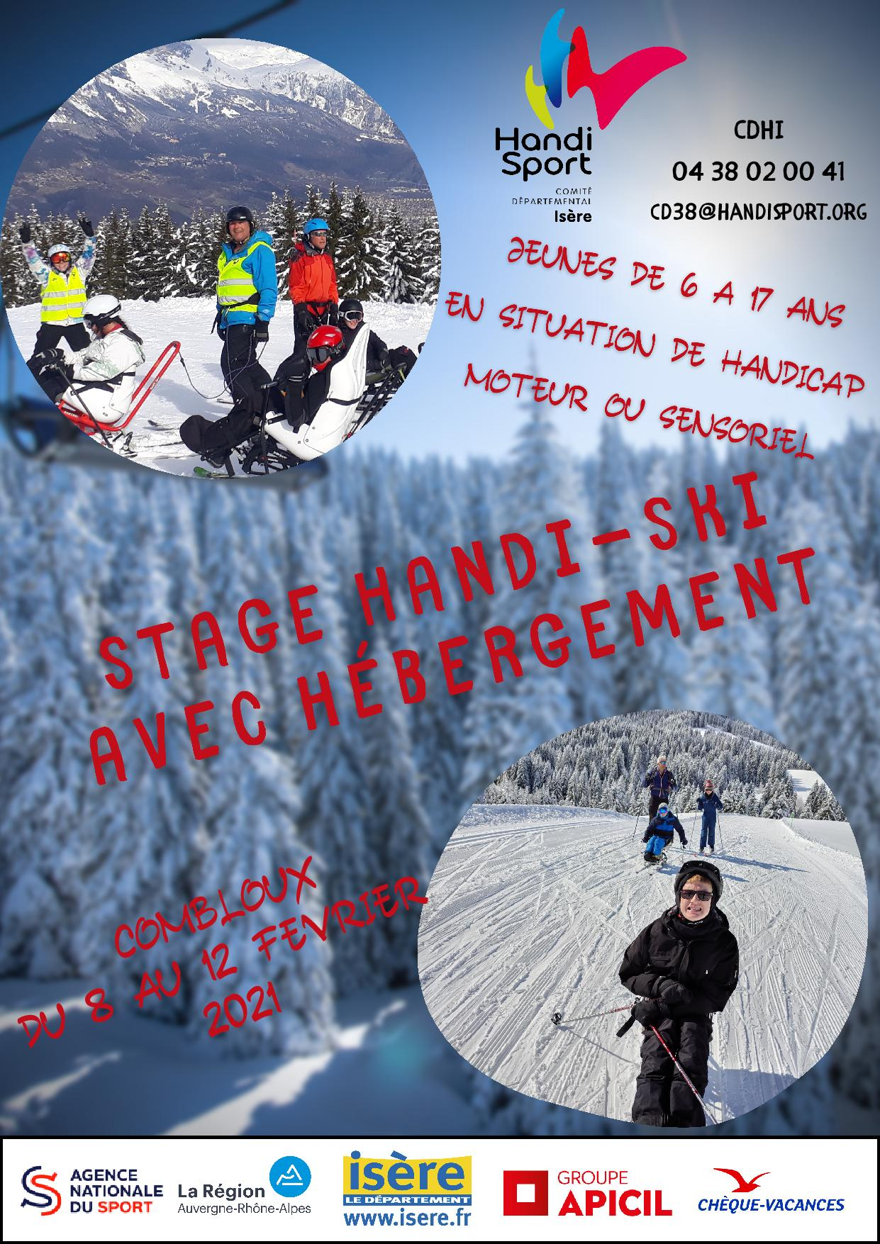 Séjour Handi-Ski jeunes – Combloux