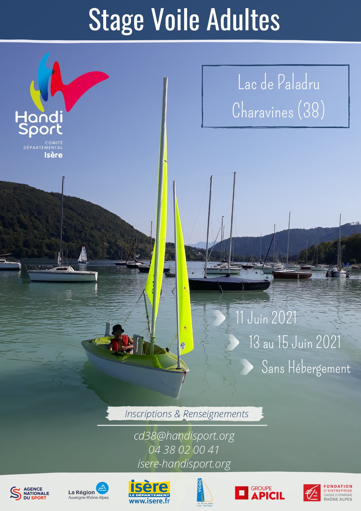 Stage Voile Adultes 2021