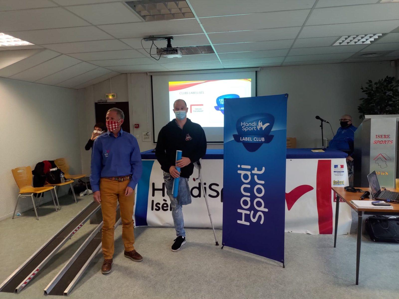 Comité Départemental Handisport de l'Isère